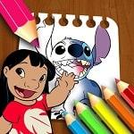 Lilo ve Stitch Boyama