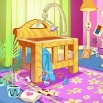 Oyuncak Bebek ile Ev Temizliği