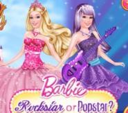 Rockstar veya Popstar Barbie