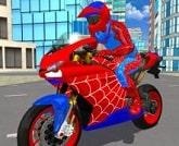 Spiderman Motorsiklet Similatörü